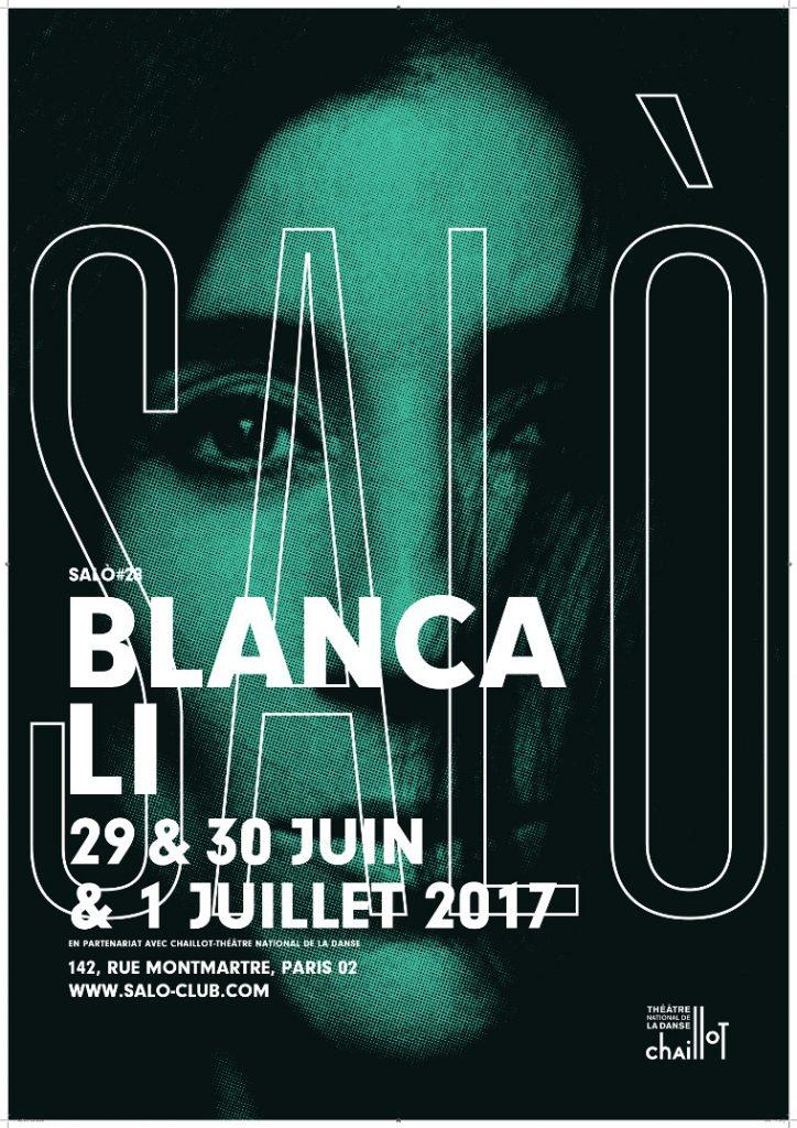 Gagnez 10×2 places pour Salo #28 : Blanca Li (29, 30 juin ou 1er juillet)