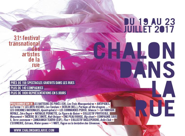 Gagnez 3×2 places pour Chalon dans la rue (le 22 juillet) + 1 Album Collector + 1 T-Shirt