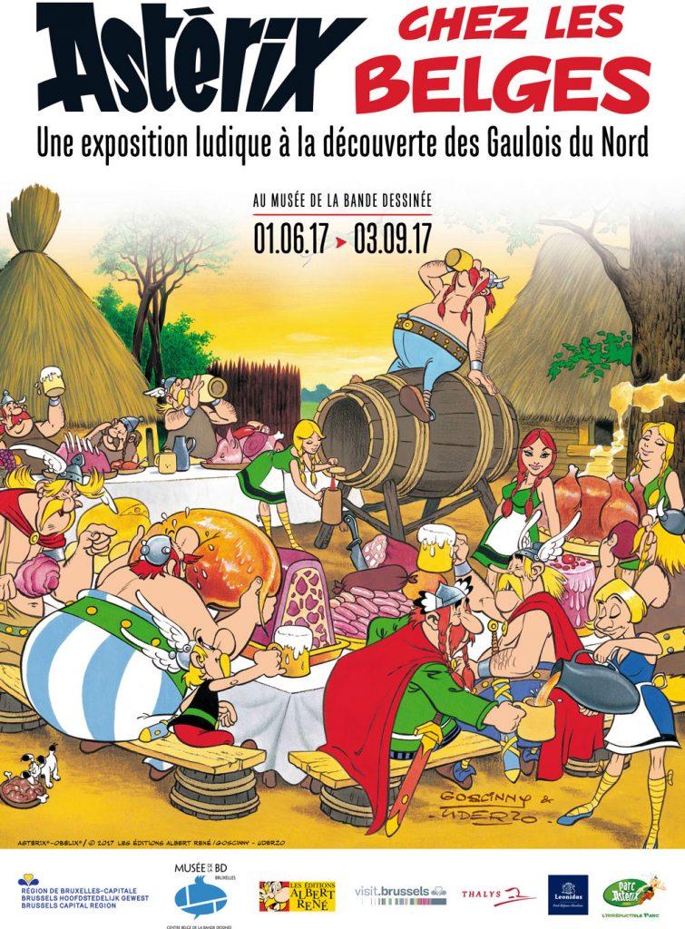 Astérix chez les Belges, une exposition à la découverte des Gaulois du Nord