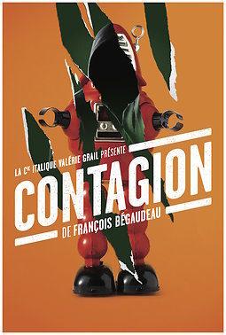«Contagion» de Francois Begaudeau mise en scène par Valérie Grail au Théâtre PARIS-VILLETTE