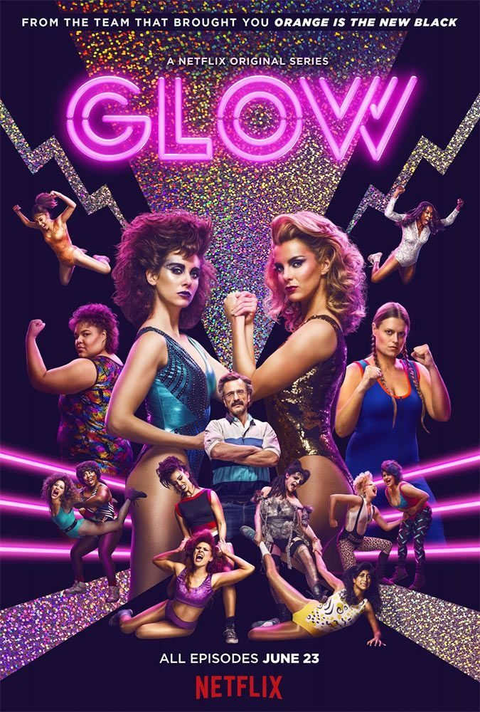 «GLOW» sur Netflix, les reines de l'arène