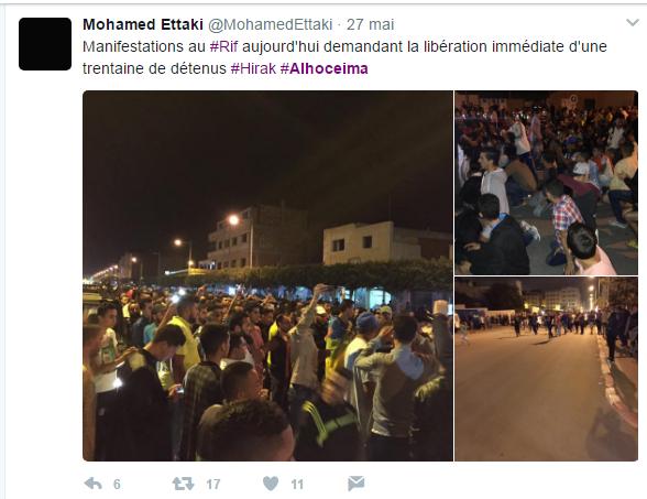 Al Hoceïma: un appel à une grève générale largement suivi