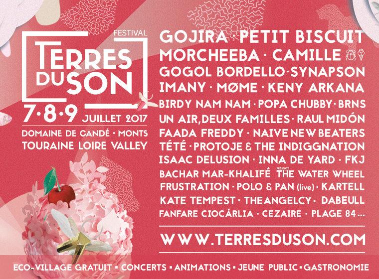 Gagnez 3×2 places pour le festival Terres du Son (le 7 juillet, Monts-Domaine de Candé)