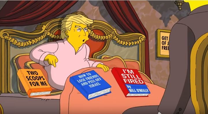 Donald Trump, la nouvelle muse des Simpsons