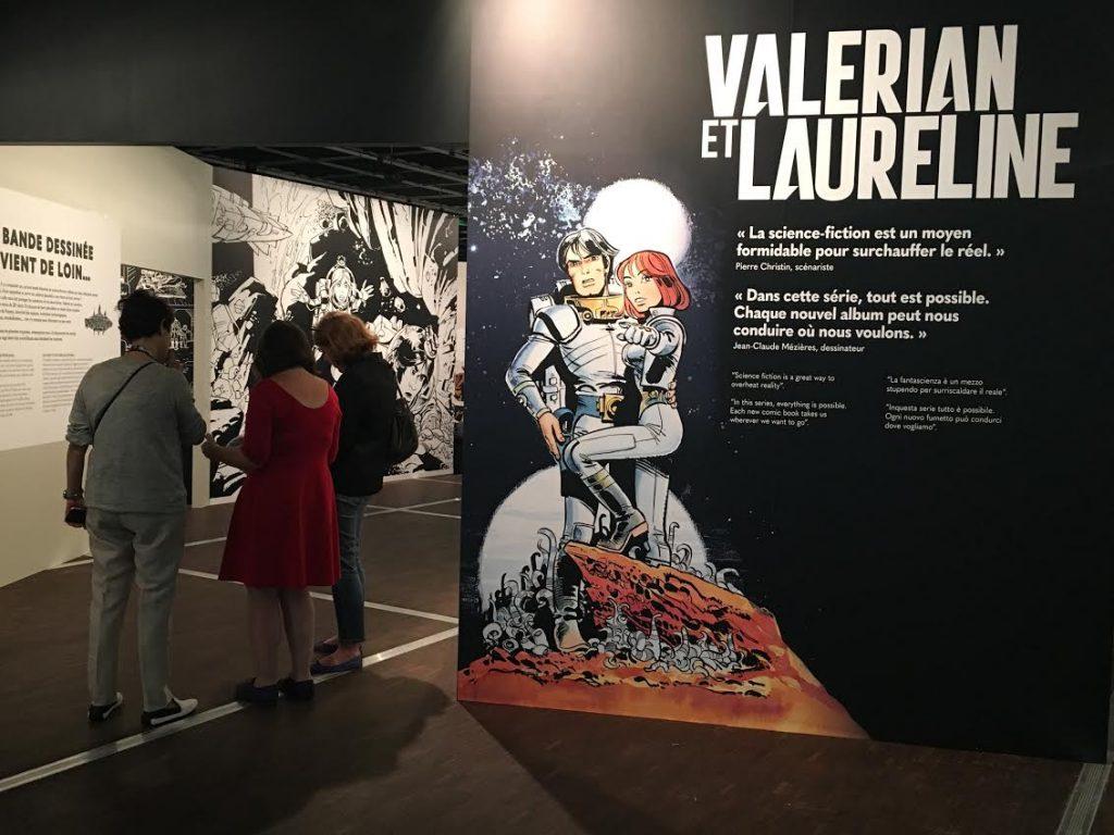 Cap sur la Villette pour Valérian et Laureline