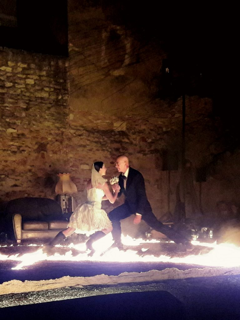 L'amour, la mort, le feu: «Amor» joue avec nos yeux [Chalon Dans La Rue]