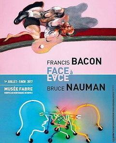 Bruce Nauman rencontre Francis Bacon au musée Fabre de Montpellier