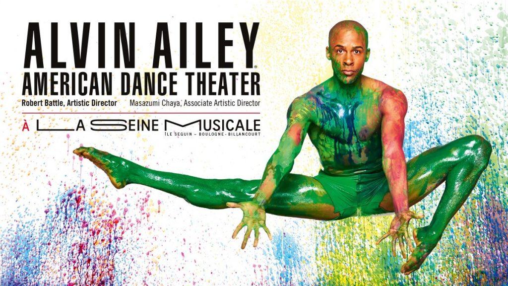 La troupe d'Alvin Ailey à la Seine Musicale