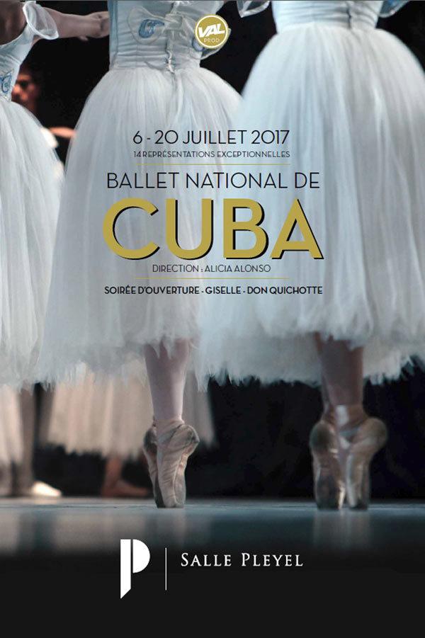 Le Ballet National de CUBA à Pleyel.