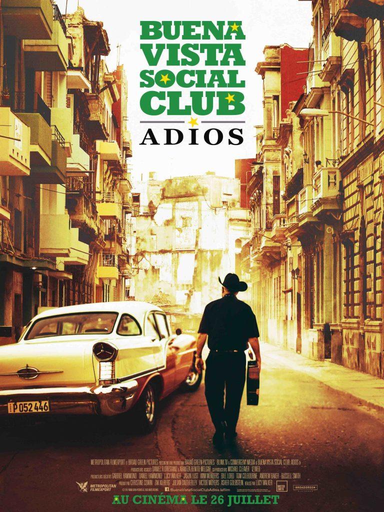 Gagnez 5×1 place de cinéma pour le film BUENA VISTA SOCIAL CLUB: ADIOS