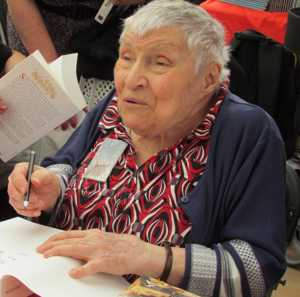 Mort de l'écrivaine Anne Golon auteure des «Angélique», à l'âge de 95 ans