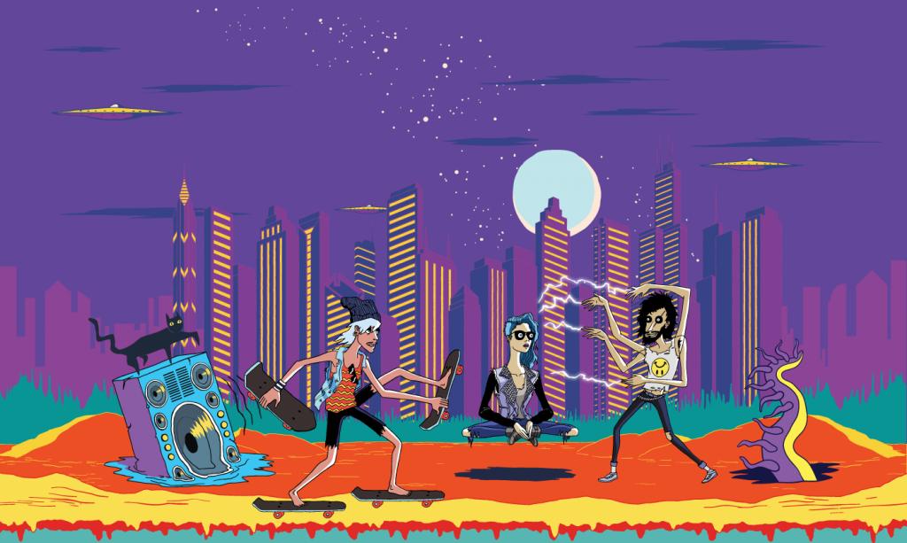 Lollapalooza jour 1: l'Hippodrome de Longchamp en fête!