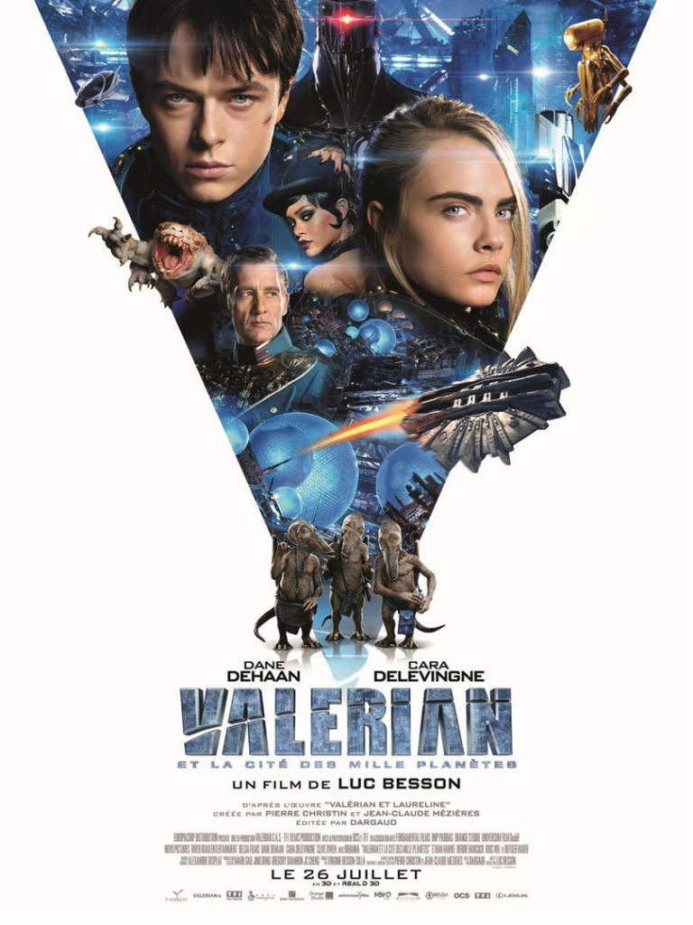 [Critique] du film « Valérian » Attachant rêve d'enfant de Luc Besson