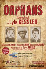 [AVIGNON OFF] «Orphans» de Lyle Kessler mise en scène Sylvy Ferrus
