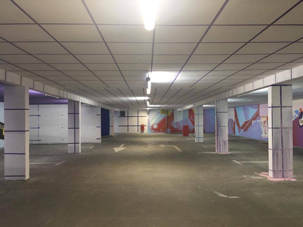 Un parking devenu musée