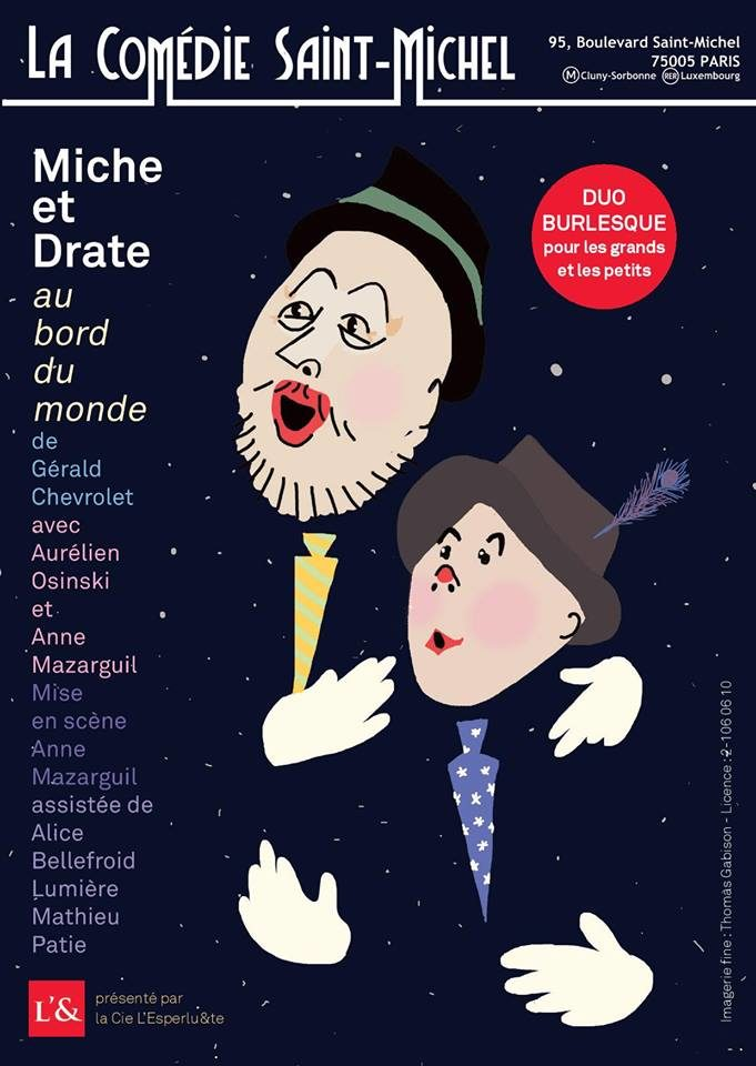 Miche et Drate, Au bord du monde