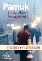 Couverture du dernier roman d'Orhan Pamuk, à paraître le 31 août 2017