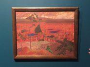 """Konrad Magi, """"Paysage norvégien avec pin"""", 1908-1910"""