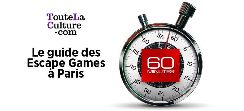 Notre classement des meilleurs Escape Games à Paris