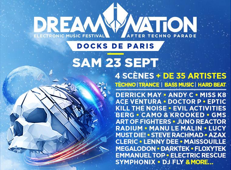 Gagnez 2×2 places pour le festival Dream Nation (23 sept.)