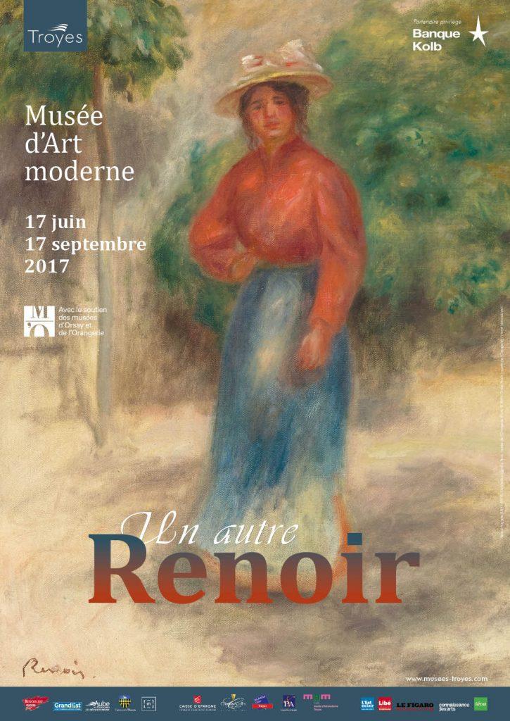 Invitation à découvrir «un autre Renoir» au musée d'art moderne de Troyes jusqu'au 17 septembre 2017