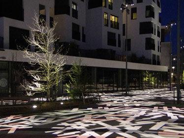 Les nouveaux usages de la lumière dans la ville dans le cadre de Agora