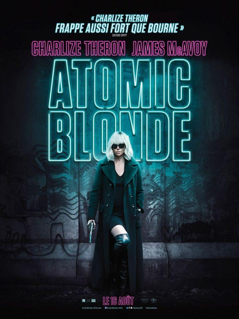 [Critique] du film « Atomic Blonde » Charlize Theron, héroine 80s follement bad-ass