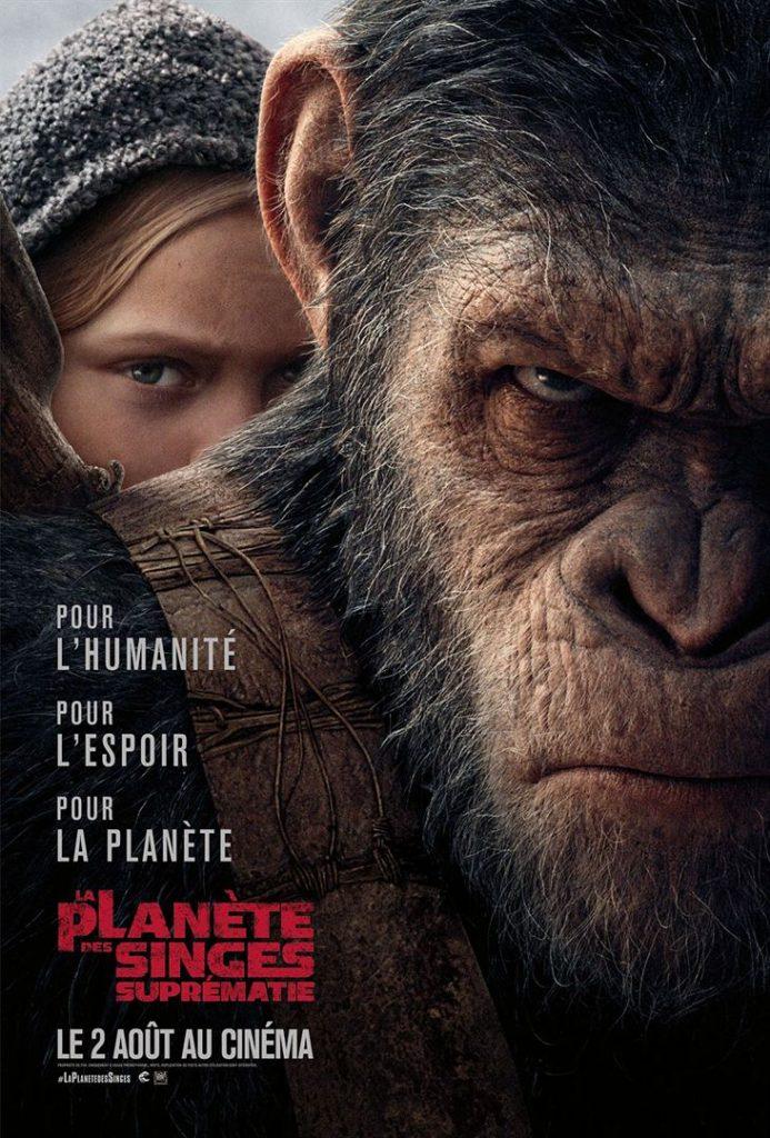 [Critique] du film « La planète des singes 3 Suprématie » Conclusion en beauté d'une passionnante trilogie