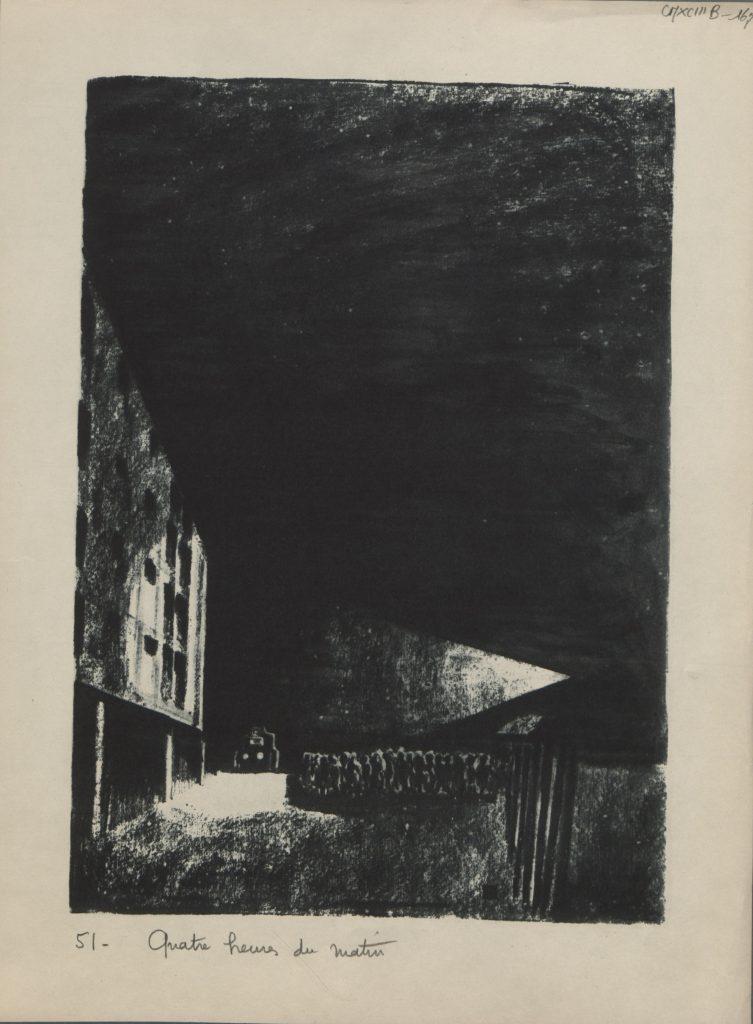 «Au seuil de l'enfer» : le camp de déportation de Drancy illustré à l'eau-forte