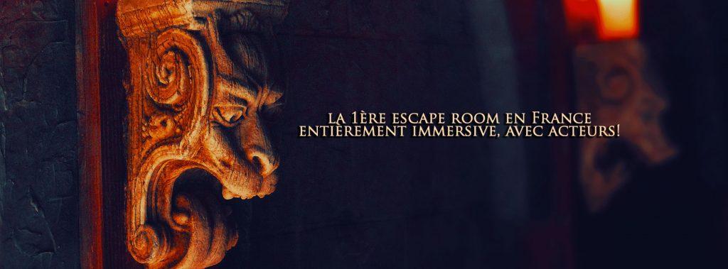 «La Crypte maudite»: en chair et en os [Escape game]