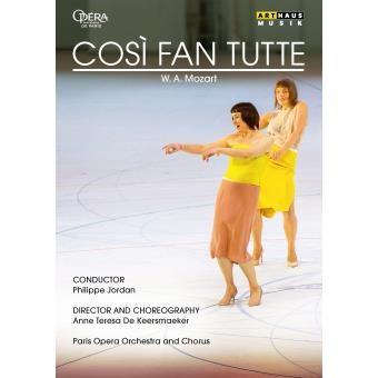 En DVD, le Cosi courbe et dansant de Keersmaeker