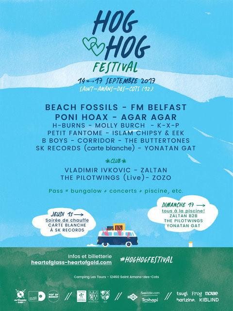 Playlist partenaire – Le festival HOG HOG (14 – 17 septembre)