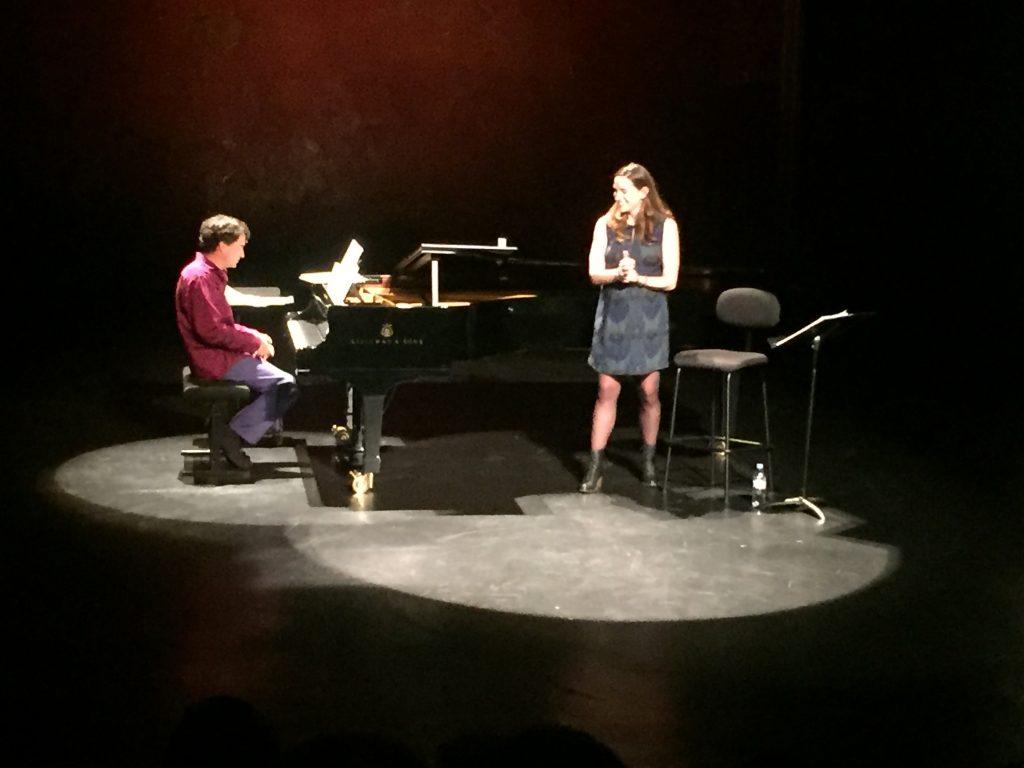 Kate Lindsey-Baptiste Trotignon, un air de Broadway aux Bouffes du Nord