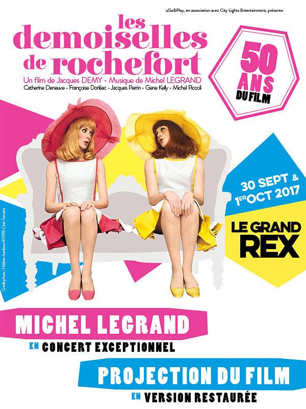 Les 50 ans des demoiselles de Rochefort au Grand Rex