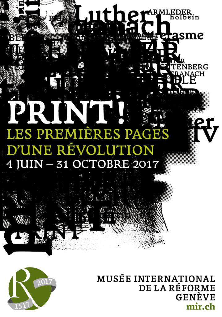 « Print », le Musée International de la Réforme de Genève célèbre Luther et Gutenberg [Genève]