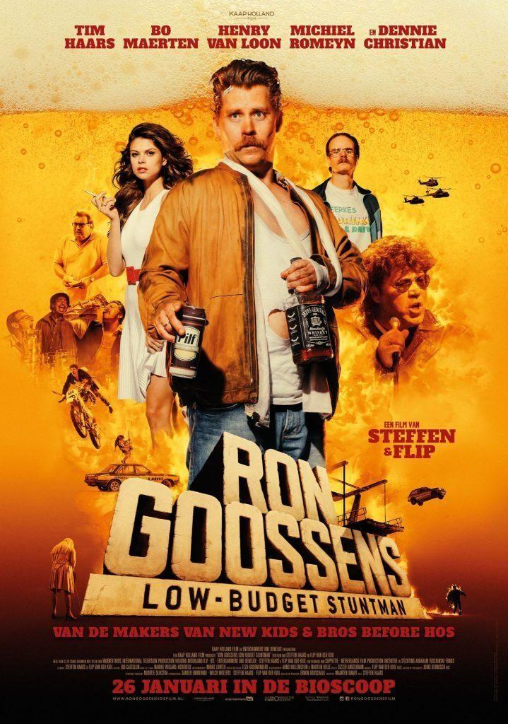 Ron Goossens, Low Budget Stuntman : une comédie fortement alcoolisée [critique]