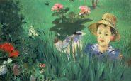 edouard_manet_garcon_dans_les_fleurs_jacques_hoschede