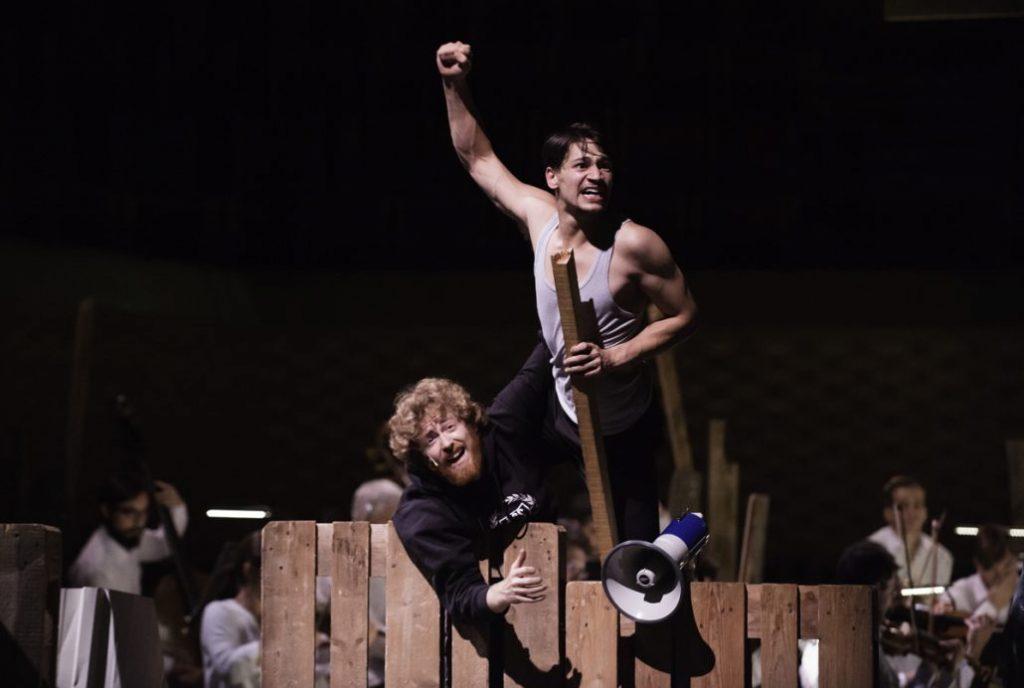 Apocalypse de la jeunesse, «Egmont» fait sa révolution à La Seine Musicale.