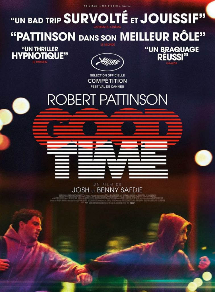 [Critique] du film « Good Time » Robert Pattinson anti-héros d'un film noir superbement stylisé