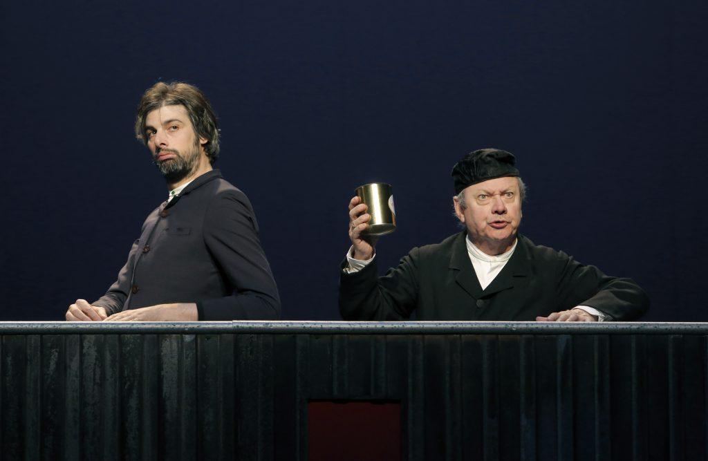 BOUVARD ET PÉCUCHET mise en scène et avec Jérome Deschamps au Théâtre de la ville