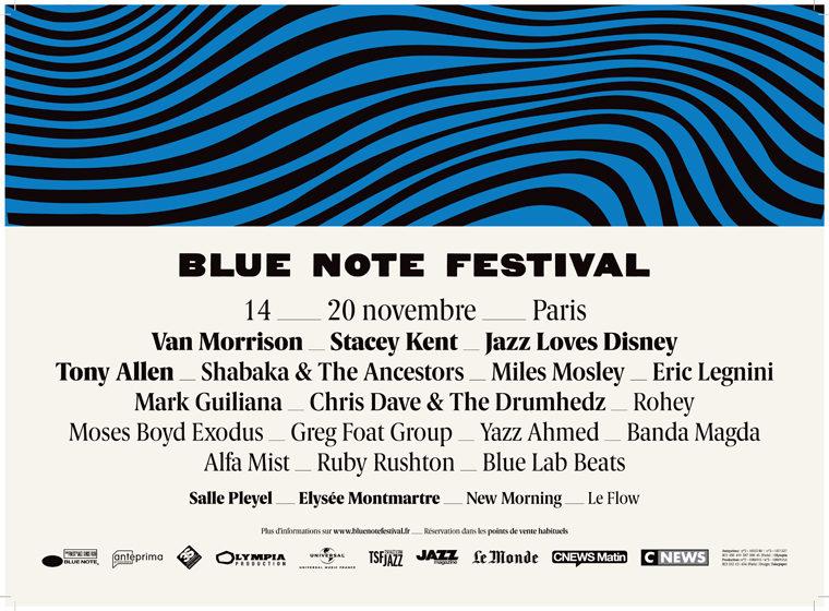 Gagnez 2×2 places pour le concert d'Eric Legnini le 15 novembre / Blue Note Festival