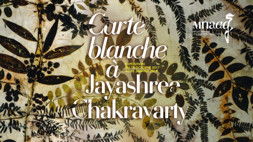 La carte blanche, végétale et monumentale de Jayashree Chakravarty au Musée Guimet