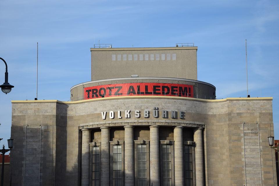 Début de saison passionnant à la Volksbühne de Berlin