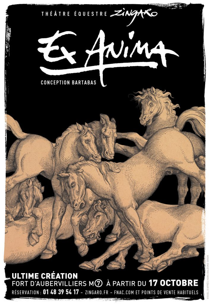 «Ex Anima» Zingaro franchit le pas de l'Homme à l'Animal.
