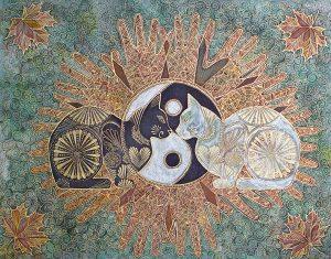 Yin et Yang, de Daria Tikhomirova