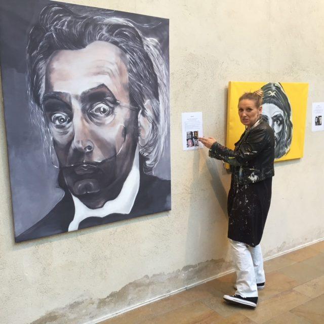 «Double Vision» : Véronique Barrillot interroge l'oeil et les icônes à la Salle de la Coupole de Dijon