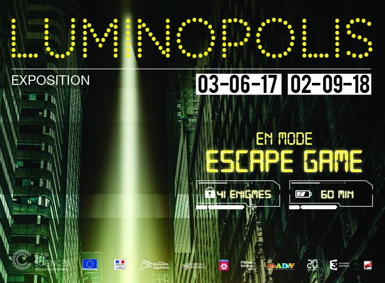 Gagnez 3×2 entrées pour l'exposition LUMINOPOLIS
