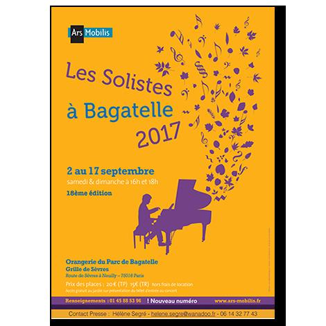 Les Solistes à Bagatelle : les jeunes talents et la mise en valeur des compositeurs d'aujourd'hui