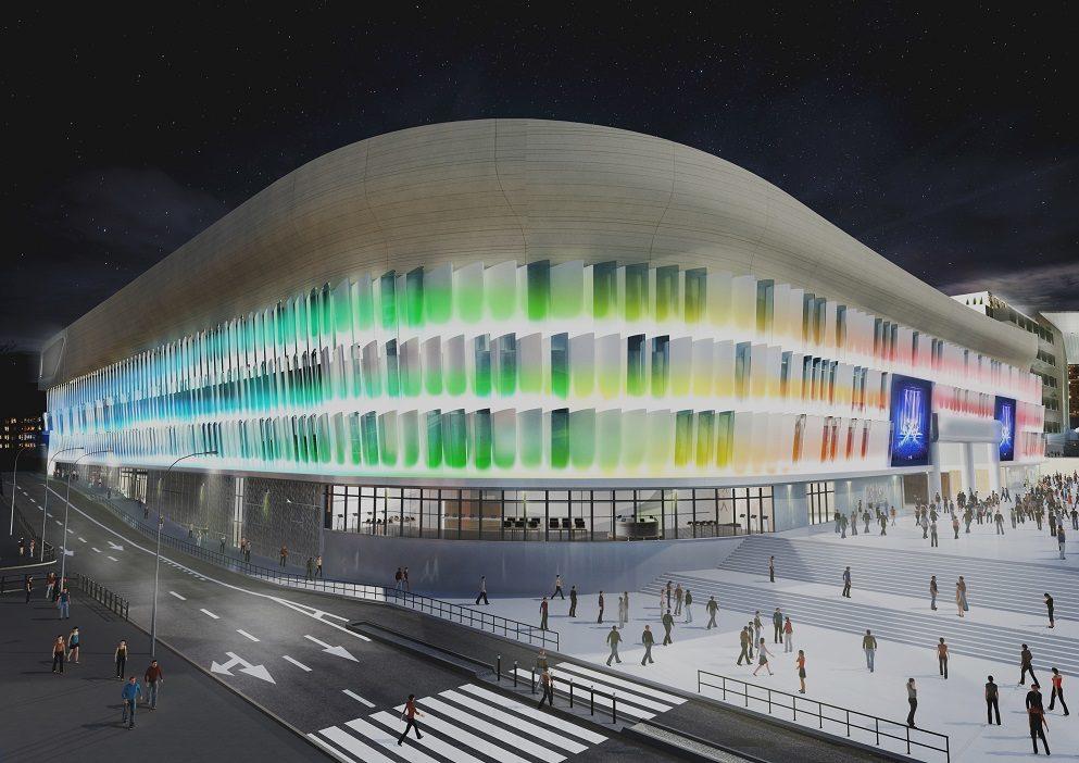 J-3 avant l'ouverture de La U Arena à Nanterre