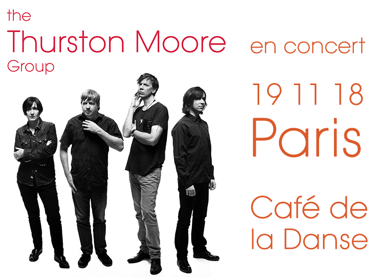 Gagnez 3×2 places pour le concert de THE THURSTON MOORE GROUP (19/11, Paris)